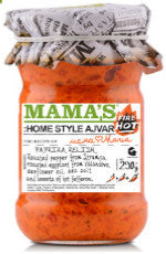 Mama's Home Style Ajvar FIRE HOT 10 oz - Parthenon Foods