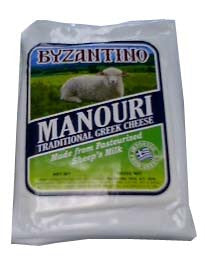 Manouri Cheese (Byzantino) approx. 14oz - Parthenon Foods