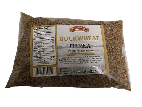 Buckwheat (Marco Polo) 16 oz (454g) - Parthenon Foods