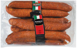 Pepperoni Sticks, Fine (Margherita) approx. 3 lbs (6 pc) - Parthenon Foods