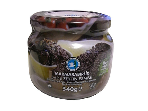Black Olive Paste (Marmarabirlik) 340g - Parthenon Foods