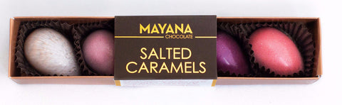 Mayana Spring Eggs Salted Caramels, 5 piece - Parthenon Foods