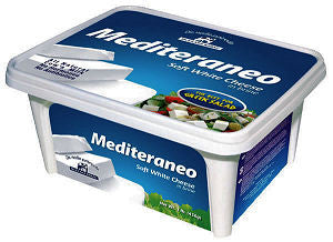 Mediteraneo Soft White Cheese in Brine, 450g (15.87 oz) - Parthenon Foods