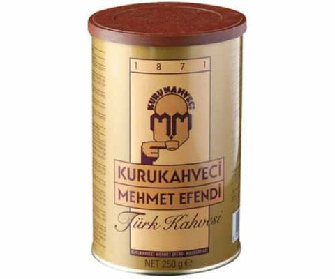 Turkish Ground Coffee, Mehmet Efendi, 250g - Parthenon Foods