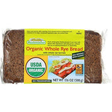 Organic Whole Rye Bread (Mestemacher) 17.6 oz (500g) - Parthenon Foods
