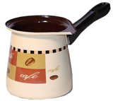 Metalac Enamel Coffee Pot, No.12, X-Large - Cafe - Parthenon Foods