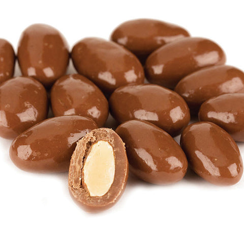 Milk Chocolate Covered Almonds, 16 oz (1lb) - Parthenon Foods