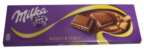Milka Choco-Swing Biscuit and Cream, 300g - Parthenon Foods
