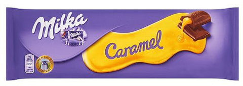 Milka Chocolate with Caramel, 280g - Parthenon Foods