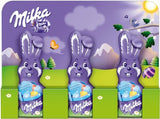 Milka Chocolate Easter Bunny, Alpine Milk, (3 x 15g) - Parthenon Foods