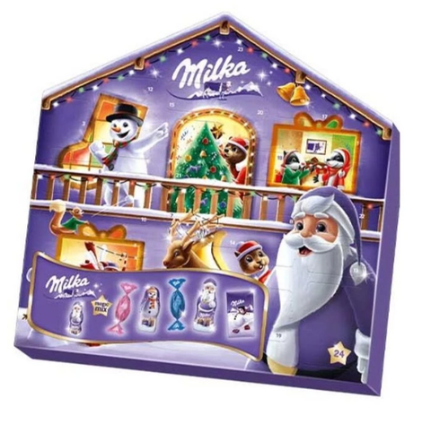 Milka Magic Mix Advent Calendar, 204g - Parthenon Foods