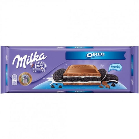 Milka OREO Alpine Milk Chocolate Bar 300g - Parthenon Foods