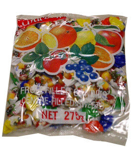 Mixed Fruit Filled Candies (kras) 275g - Parthenon Foods