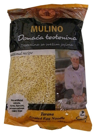 Tarana Grated Egg Noodle (Mulino) 12 oz (350g) - Parthenon Foods