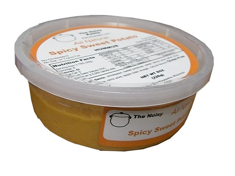 Spicy Sweet Potato Hummus (NoisyKettle) 8 oz (226g) - Parthenon Foods  - 1