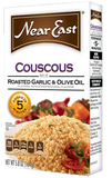 Couscous Mix, Roasted Garlic and Olive Oil (NearEast) 5.8oz (164g) - Parthenon Foods