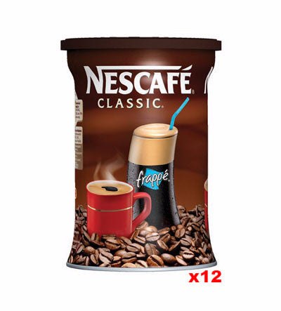 Nescafe Instant Coffee, CASE, 12x200g - Parthenon Foods