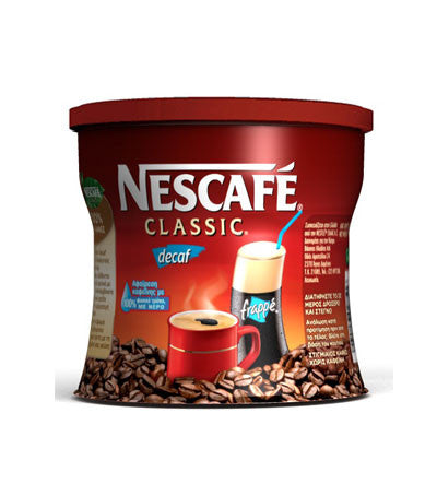 Nescafe Decaffeinated Instant Coffee  100g - Parthenon Foods