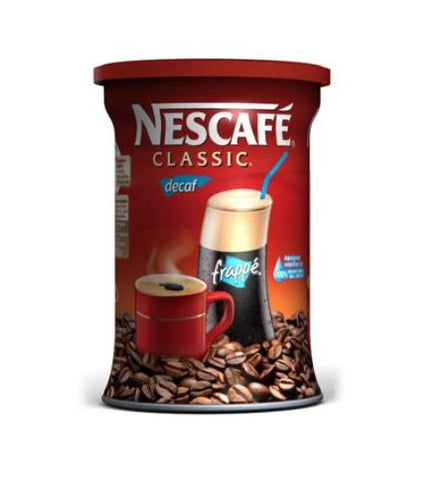 Nescafe Decaffeinated Instant Coffee  200g - Parthenon Foods