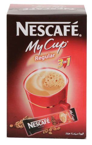 Nescafe My Cup Regular 3 in 1, CASE (24 x 20g) - Parthenon Foods