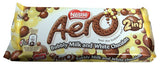 Nestle Aero Bubbly Milk and White Chocolate 2 in1, 35g - Parthenon Foods