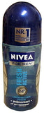 Nivea FRESH Active For Men Roll-On Deodorant, 50ml - Parthenon Foods