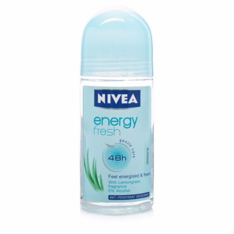 Nivea Energy fresh Roll-On Deodorant, 50ml - Parthenon Foods