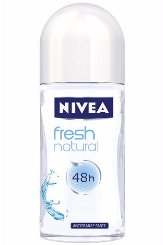 Nivea FRESH Natural for Women Roll-On Deodorant, 50ml - Parthenon Foods