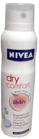 Nivea Spray Deodorant, Dry Comfort, 150ml - Parthenon Foods