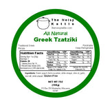 Greek Tzatziki, Cucumber Sauce (NoisyKettle) 16 oz (454g) - Parthenon Foods