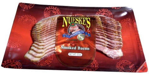 BACON Smoked, SLICED (Nueskes) 12oz - Parthenon Foods