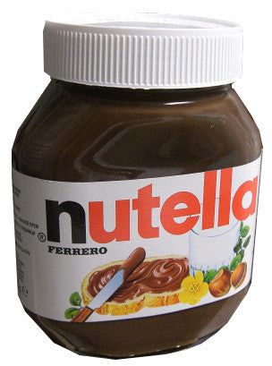 Nutella Chocolate Hazelnut Spread IMPORTED 630g Glass - Parthenon Foods
