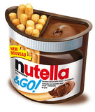 Nutella and GO! Snack (Nutella 39g, Sticks 13g) 1 piece - Parthenon Foods
