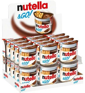 Nutella and GO! Snack (Case of 24) (52g) - Parthenon Foods