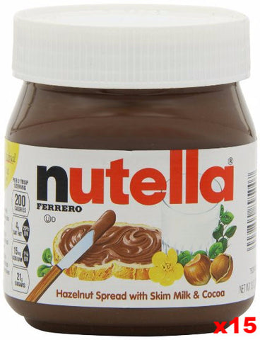Nutella Spread, CASE, (15x13oz) Plastic - Parthenon Foods