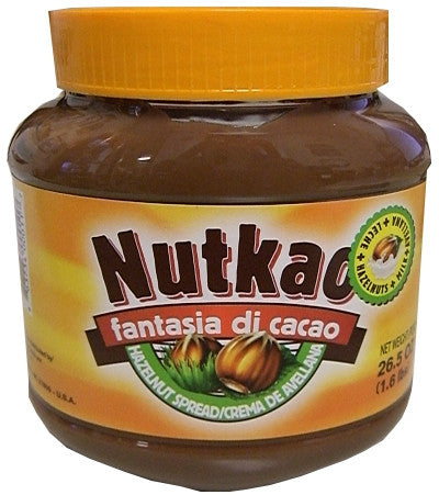Nutkao Hazelnut Spread, 26.5 oz (751g) - Parthenon Foods  - 1