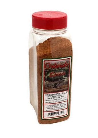 Seasoning Salt (Olrando Spices) 32 oz - Parthenon Foods