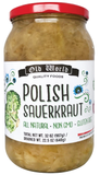 Polish Sauerkraut (Old World) 32 oz - Parthenon Foods