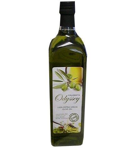 Extra Virgin Olive Oil, Kalamata (Odyssey) 1 L, bottle - Parthenon Foods