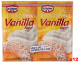 Vanilla Sugar, (Oetker) CASE 12x(6x0.32oz)54g - Parthenon Foods  - 1