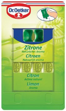 Lemon Flavoring, Essence (Oetker) 4pc - Parthenon Foods