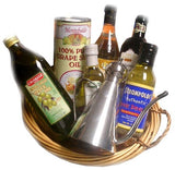 Oil and Vinegar Gift Basket 7pc - Parthenon Foods