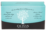 OLIVIA Olive Oil Soap with Aloe Vera, 125g - Parthenon Foods