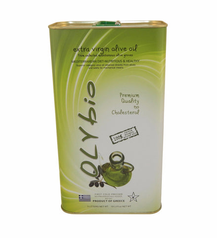 Olybio Extra Virgin Olive Oil, 3L - Parthenon Foods