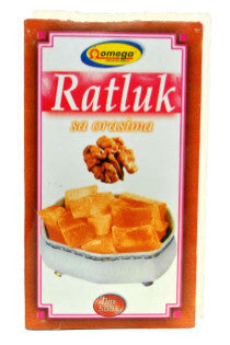 Ratluk Turkish Delight Walnut (Omega) 500g - Parthenon Foods