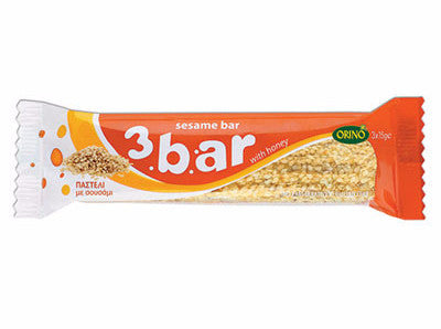 Honey and Sesame Snack 3 bar (Orino) 45g - Parthenon Foods