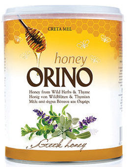 Orino Wild Herbs and Thyme Honey, 400g Can - Parthenon Foods
