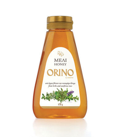 Pure Mountain Honey (Orino) Squeeze 470g - Parthenon Foods  - 1