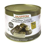 Stuffed Vine Leaves (Palirria) 74 oz (2100g) - Parthenon Foods