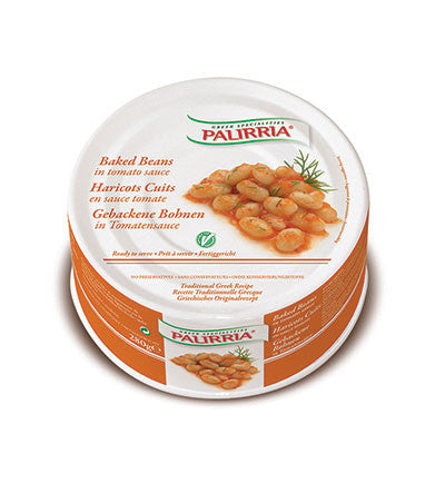 Baked Small Beans (Palirria) 280g - Parthenon Foods